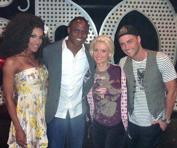 Cheaza, Wayne Brady, Holly Madison and Josh Strickland