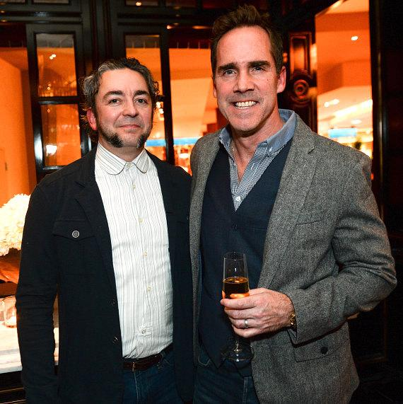 Chefs Matthias Merges and Shawn McClain at BARDOT Opening