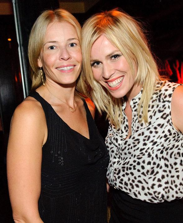 Chelsea Handler and Natasha Bedingfield at TAO