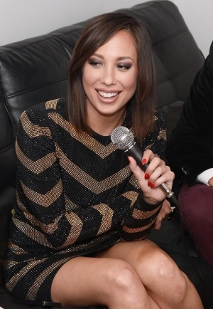 Dancing with the Stars' Cheryl Burke and James Maslow Party at LIGHT Nightclub at Mandalay Bay