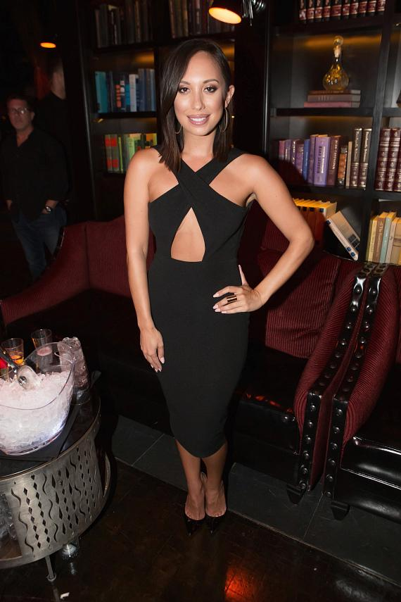 Cheryl Burke at LAVO Casino Club