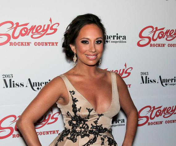 Cheryl Burke at Stoney's Rockin' Country