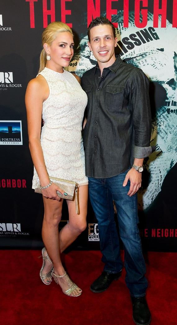Cheyenne Ruether and Jason Egan