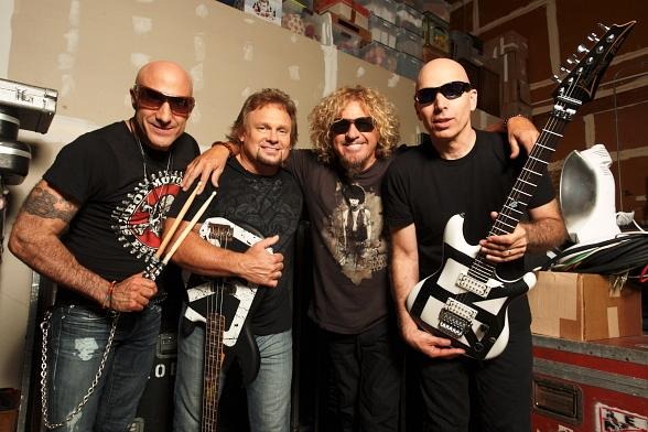 Chickenfoot (Joe Satriani, Sammy Hagar, Michael Anthony, Kenny Aronoff) to Perform at The Joint June 1