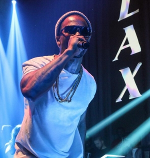 Chingy takes the stage at LAX Nightclub inside Luxor Hotel and Casino for its Throwback Thursday series
