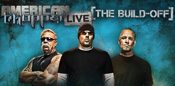 Jesse James to Battle Senior and Junior on American Chopper Live from Hard Rock Hotel Dec. 5-6