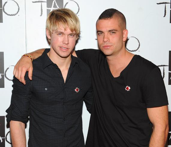 Glee's Mark Salling Celebrates New Album Release at TAO Beach