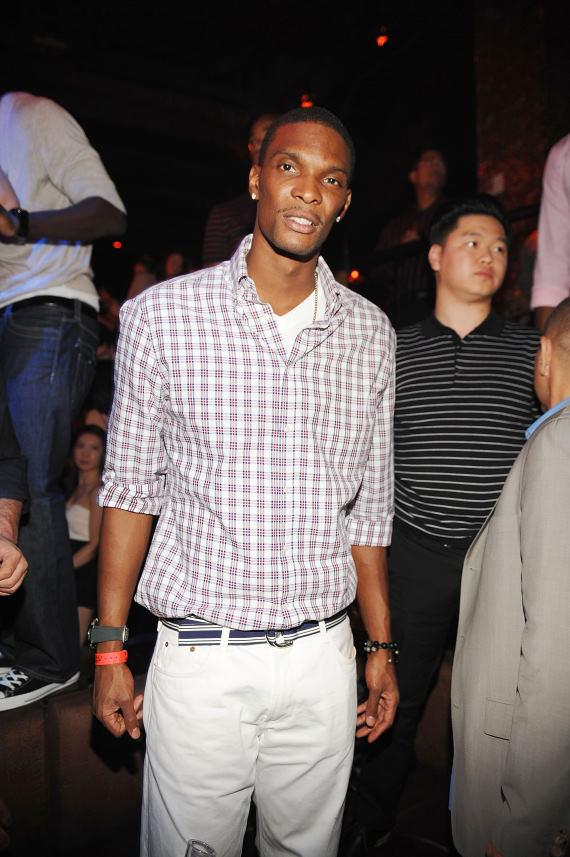 Chris Bosh at TAO