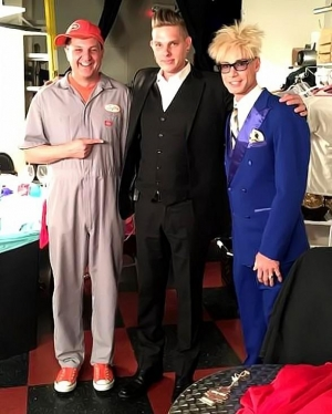 "Chris Funk from Wizard Wars Guest Stars in ""Murray 'Celebrity Magician'"" at Planet Hollywood"