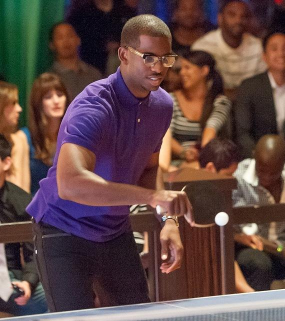 Chris Paul Wins TopSpin Charity Ping Pong Tournament During Carnevale at The Palazzo Las Vegas