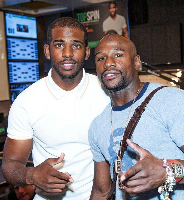 Basketball Star Chris Paul Hosts Second Annual TopSpin Charity Ping Pong Tournament at Lagasse's Stadium at The Palazzo Las Vegas