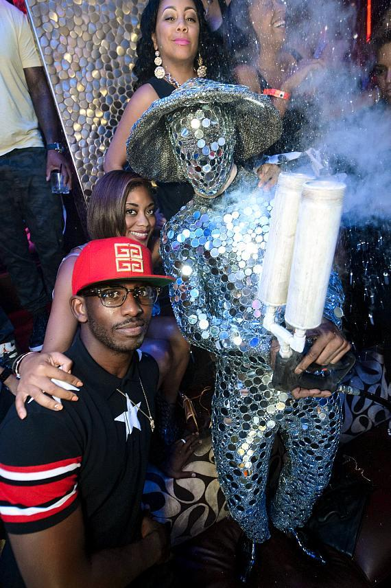 Chris Paul and Jada Paul at TAO
