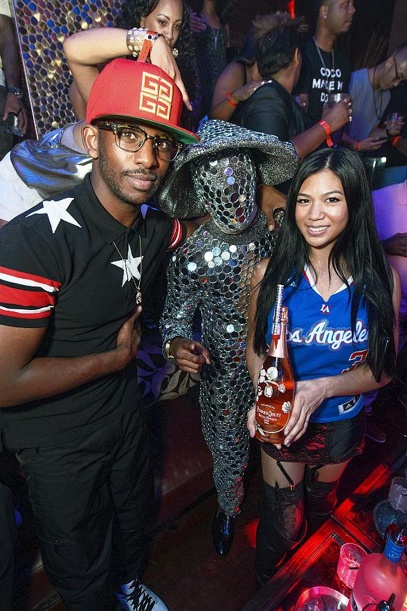 "Los Angeles Clippers Chris Paul ""CP3"" Hosts at TAO Nightclub"