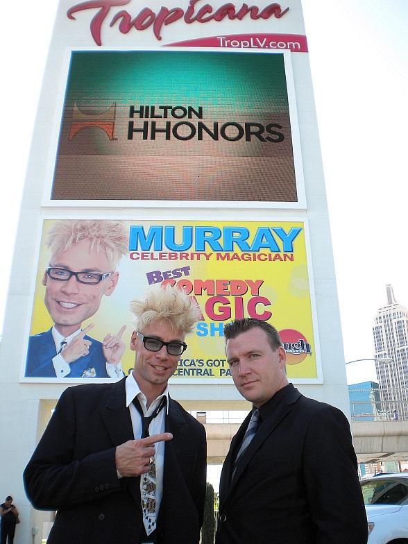 Murray Adds Street Magician Chris Randall to 'MURRAY Celebrity Magician' at The Tropicana Las Vegas