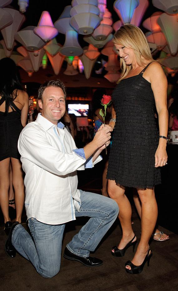 Chris Harrison with wife Gwen at Blush Boutique Nightclub