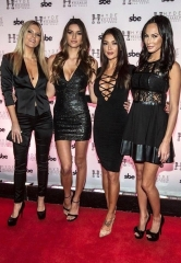 UFC Octagon Girls Arianny Celeste, Chrissy Blair, Vanessa Hanson and UFC personality Kenda Perez host fight night after-party at Hyde Bellagio