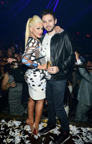 Christina Aguilera at Hakkasan Las Vegas Restaurant and Nightclub 2-Year Anniversary Party
