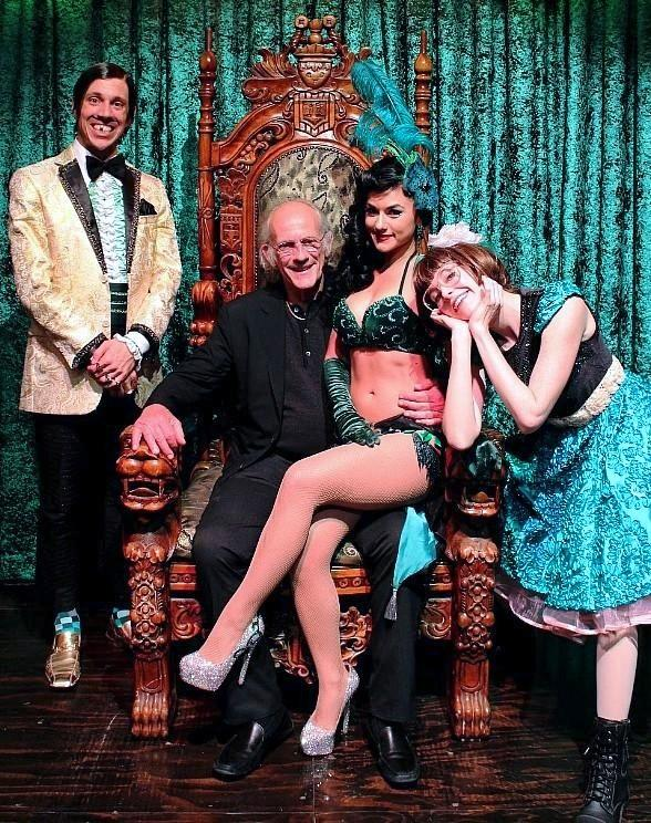 """Back to the Future"" star Christopher Lloyd attends ABSINTHE at Caesars Palace"
