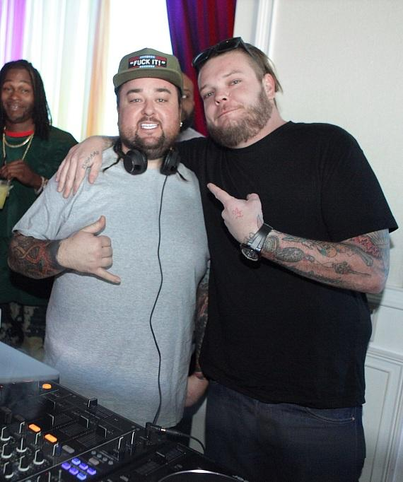 Chumlee and co-star Corey Harrison at GBDC