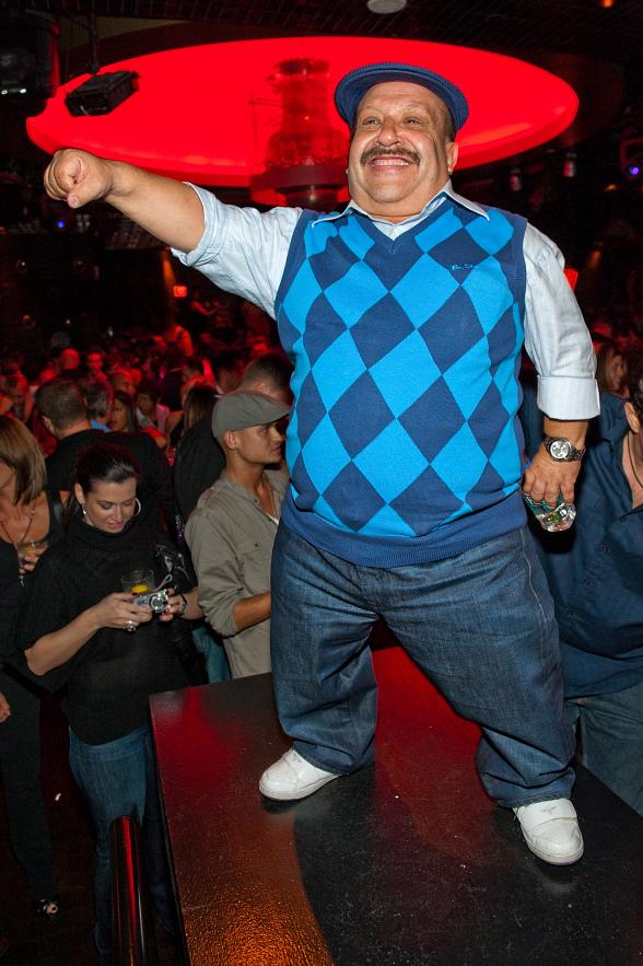 Chuy Hosts at LAVO