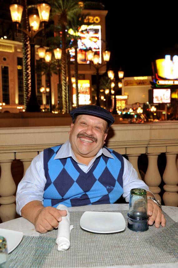 Chuy dining at LAVO