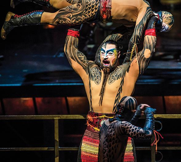 "Cirque du Soleil Returns to their Roots at ""Life is Beautiful Music & Art Festival"""