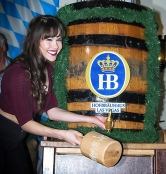 Eddie Griffin and Claire Sinclair at Hofbräuhaus Las Vegas