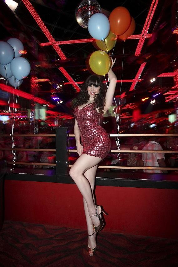 Claire Sinclair inside Crazy Horse III
