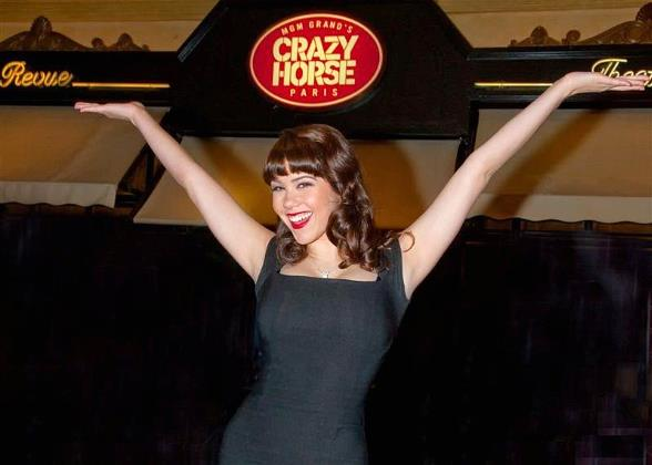 Back By Popular Demand: Playboy's Claire Sinclair Stars in MGM Grand's Crazy Horse Paris