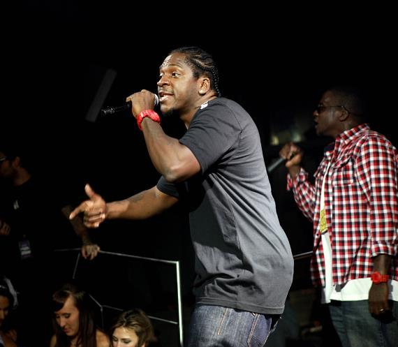Clipse - Pusha T at Moon Nightclub