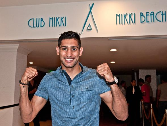 Amir Khan at Club Nikki