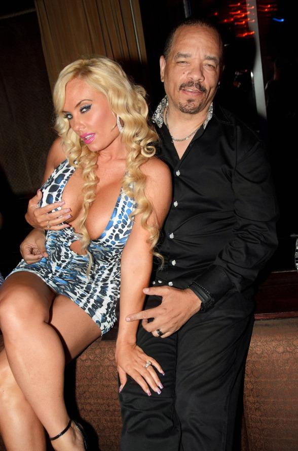 Ice T and Coco at LAVO