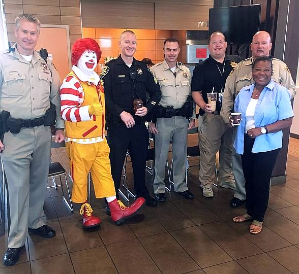 "Six Southern Nevada McDonald's Restaurants Host ""Coffee with a Cop"""