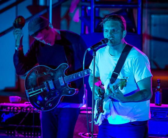 Cold War Kids perform at Boulevard Pool at The Cosmopolitan of Las Vegas