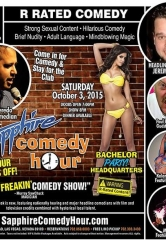 Jeremy Flores to Headline Sapphire Comedy Hour, Saturday October 3 with Paul Brumbaugh, Donnie Johnson, Kalani Kokonuts and Mon Dre!