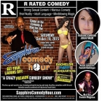 Angie Krum to Headline Sapphire Comedy Hour, Saturday October 10 with Donnie Johnson, Kalani Kokonuts and Mon Dre!