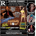Gary Caouette to Headline Sapphire Comedy Hour, Saturday October 24 with Donnie Johnson, Kalani Kokonuts and Mon Dre!