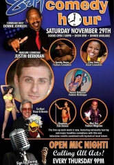 Comedian Justin Berkman to Headline Sapphire Comedy Hour on Saturday, Nov. 29