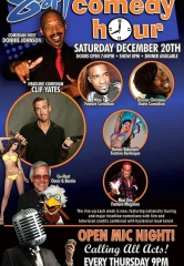 Comedian Clif Yates to Headline Sapphire Comedy Hour on Saturday, Dec. 20