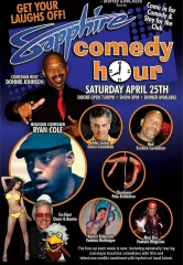 Comedian Ryan Cole to Headline Sapphire Comedy Hour, Saturday April 25