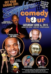 Comedian Jay Reid to Headline Sapphire Comedy Hour, Saturday June 6