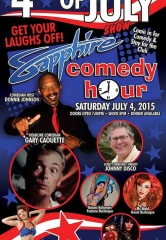 Comedian Gary Caouette to Headline Sapphire Comedy Hour, Saturday July 4