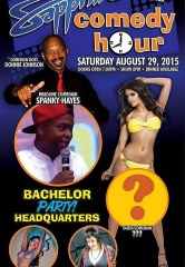 Spanky Hayes to Headline Sapphire Comedy Hour, Saturday August 29