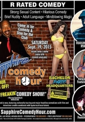 Ryan Cole to Headline Sapphire Comedy Hour, Saturday September 19 with Donnie Johnson, Kalani Kokonuts and Mon Dre!