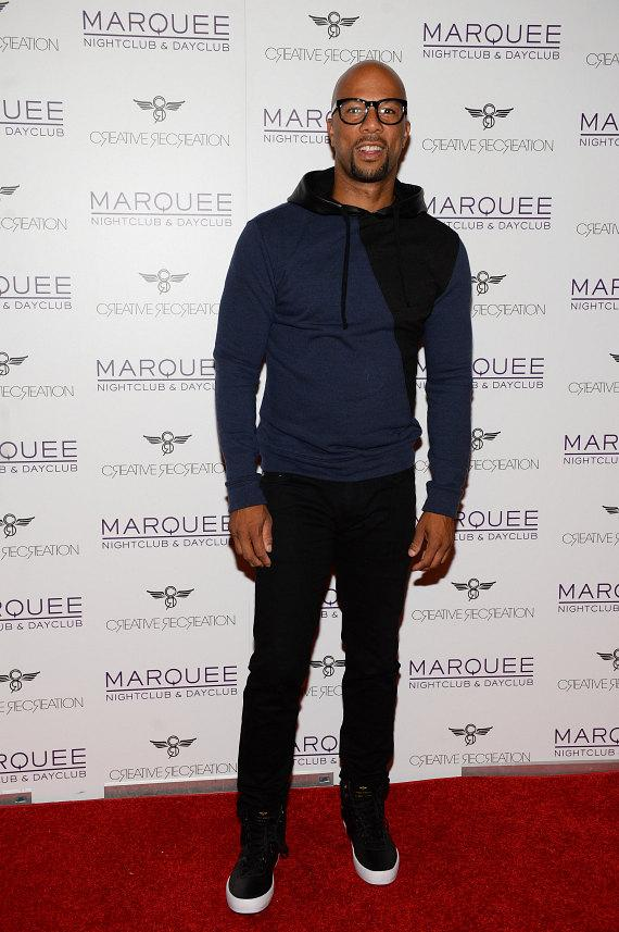 Common on Red Carpet at Marquee
