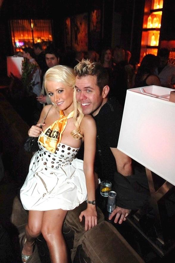 Holly Madison and Perez Hilton at Blush Boutique Nightclub