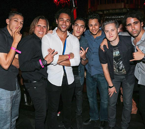 Corbin Bleu's Bachelor Party at TAO Friday