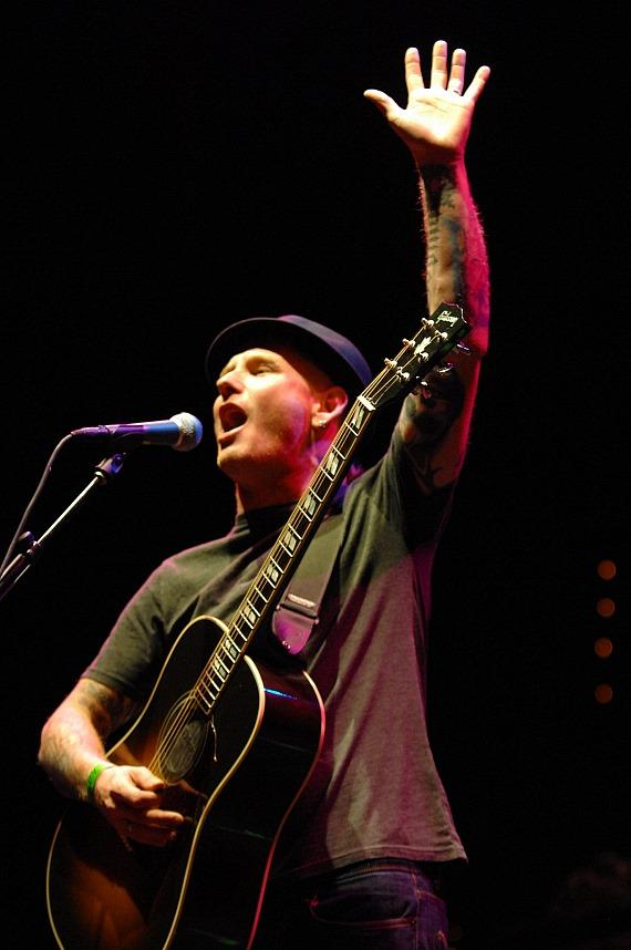 Corey Taylor performs at Rock Vegas Festival at Mandalay Bay