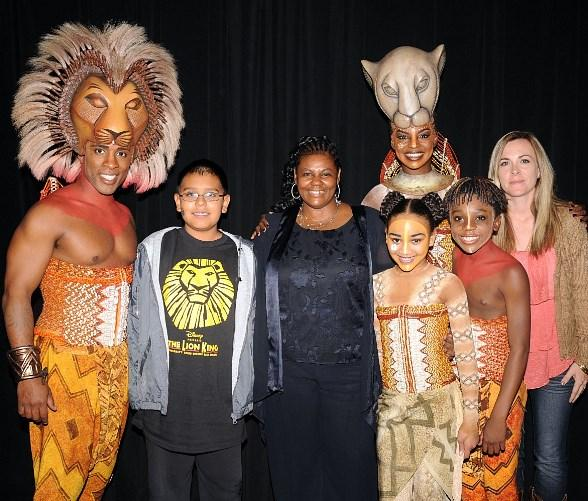 Disney's THE LION KING Welcomes Students and Teachers from Walter V. Long Elementary