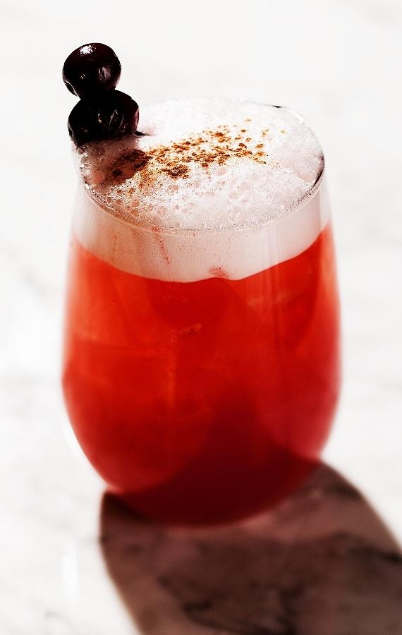 Cranberry Cinnamon Pie cocktail